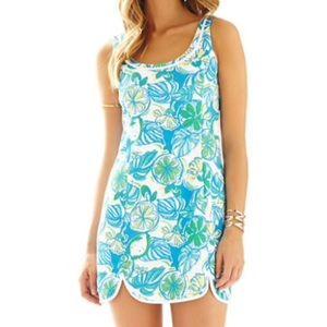 Lilly Pulitzer Floral Mini Dress XS